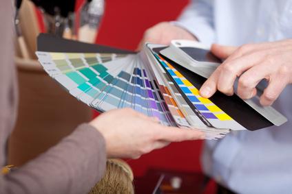 Beratung bei der Farbgestaltung