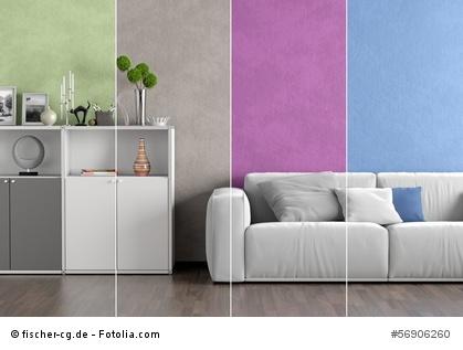 Trendfarben nutzen für die Raumgestaltung