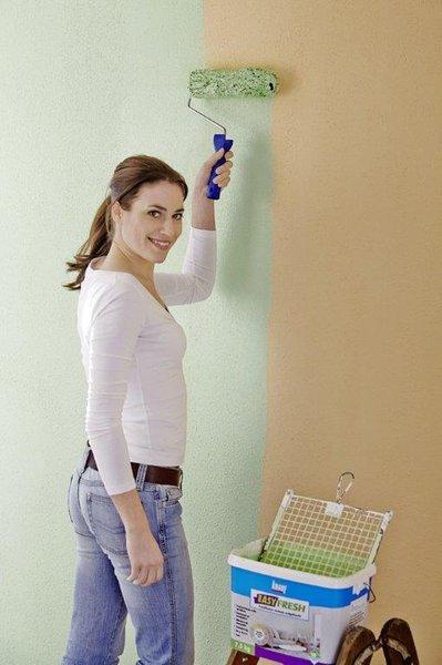 Innenraumgestaltung - Putz streichen